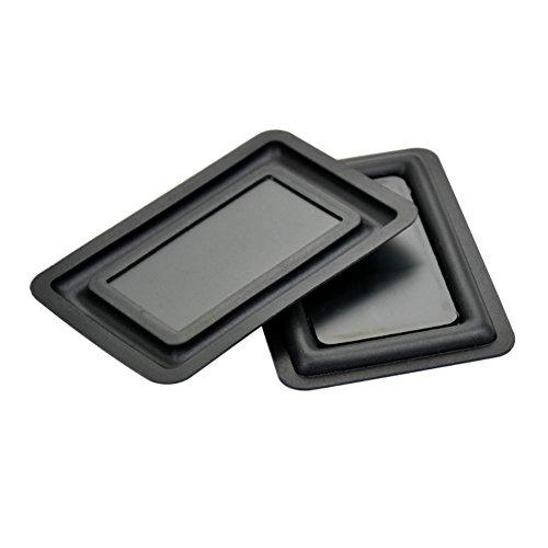 Aoshike 2pcs 60x90MM Speaker Bass Vibration Membrane Bass Diaphragm Plate,Speaker Passive Radiator Replacement Kit