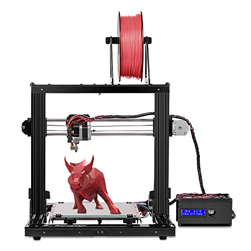 Pxmalion CoreI3 3D Printer DIY Kit, Auto Leveling, Heat Bed, Improved Reprap Prusa i3 Structure, Filament RunOut Detection, Multiple Colors Printing, 40g PLA Filament Sample (Best Reprap 3d Printer)