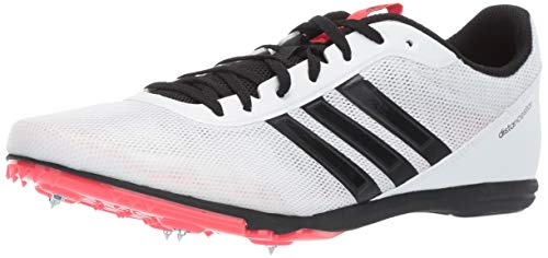 adidas Women's Distancestar, White/Black/Shock red 7.5 M US ()