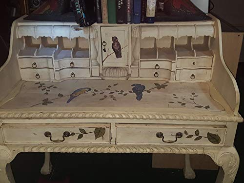 Hand Carved Secretary Desk - Chippendale Early 1800's Secretary Desk Very Rare Ball & Claw