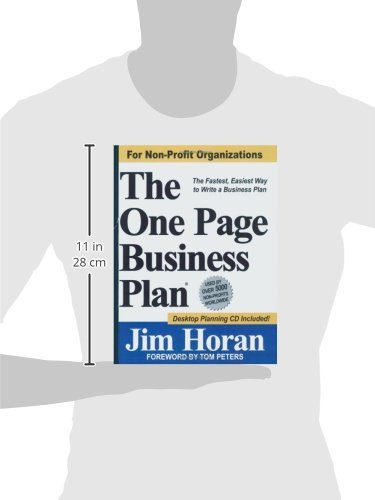 The One Page Business Plan for Non-Profit Organizations by Brand: The One Page Business Plan Company (Image #1)