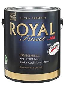 Ace Paint Division 141A330-6 Royal Finest Interior Eggshell Deeptone Gallon