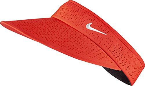 NIKE Golf CLOSEOUT Women's Big Bill 2.0 Adjustable Visors 742710 (Light Crimson/White) Visor Overlay