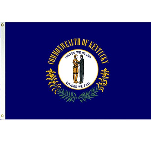 Kentucky 3x5 Polyester Flag