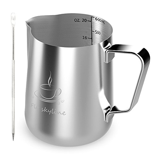 steaming pitcher 20 oz - 5