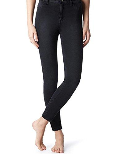 Calzedonia Damen Slim Sexy Fit Jeans Schwarz - 3449