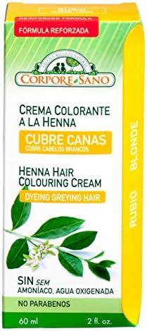 CR.COLORANTE HENNA RUBIO 60ml: Amazon.es: Salud y cuidado ...