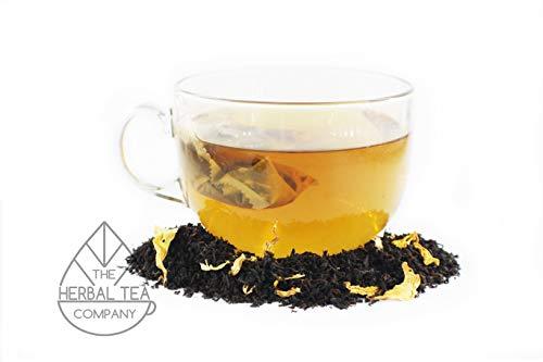 Thuja Herb Tea Green Apple Black Tea Blend Tea Bags With Mint Flavour 50 Pack