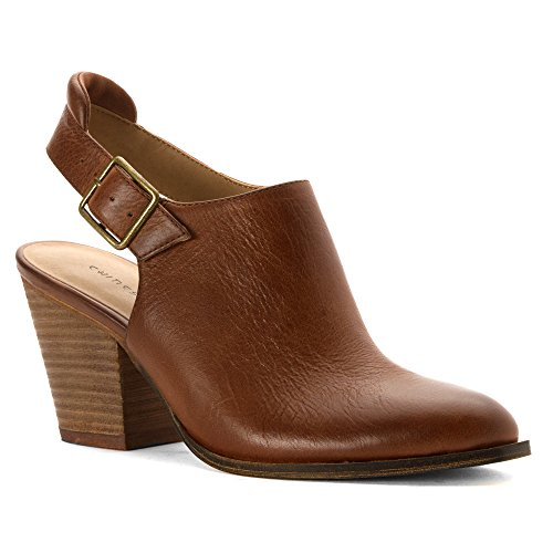 Chinese Laundry Womens Katrina Mule Tobacco Leather