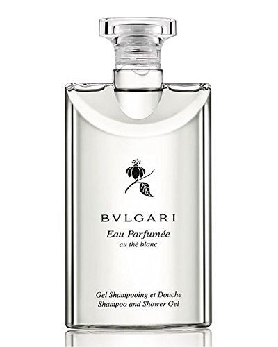 Bvlgari White Tea (Bvlgari Au The Blanc (White Tea) Shampoo and Shower Gel Travel Size, 2.5 Ounce Bottles - Set of 3)