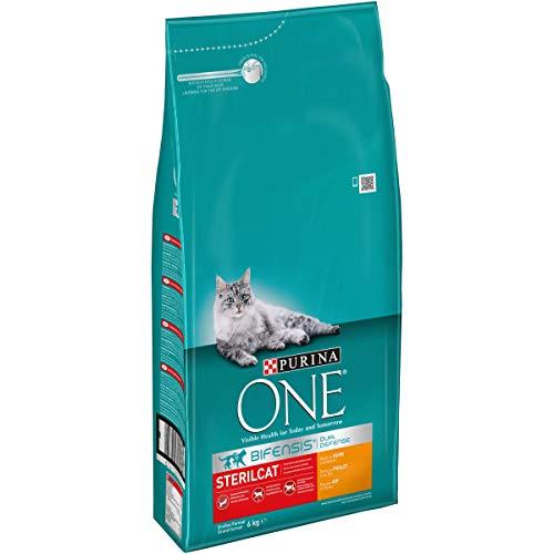 PURINA ONE BIFENSIS STERILCAT Katzenfutter trocken für sterilisierte Katzen, verschiedene Sorten