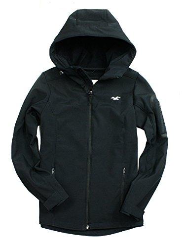 hollister-mens-epic-flex-softshell-hooded-jacket-medium-black
