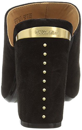 Calvin Klein Kvindernes Cicelle Kjole Sandal Sort chk0izmb