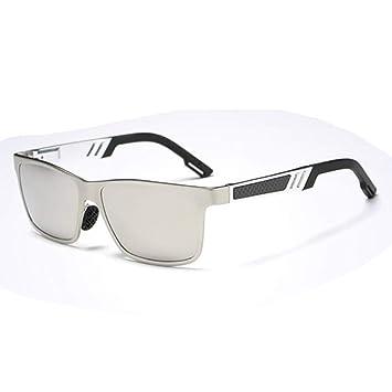 Gafas De Sol Aluminio Magnesio Gafas Para Hombres Colorido Polarizado Conductor Espejo De Conducción Gafas De