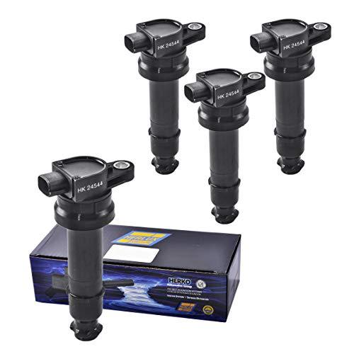 - Set of 4 Herko B131 Coils For Hyundai I30 And Kia Cerato Soul L4 1.6L 06-10