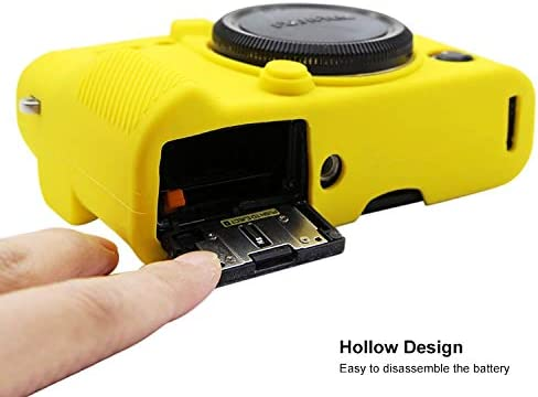 Color : Yellow MEETBM ZIMO,Soft Silicone Protective Case for FUJIFILM XT10 Camouflage