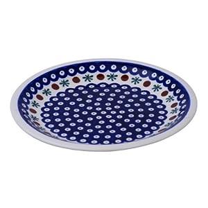 Boleslawiec Pottery Assiette en céramique de Boleslawiec Motif 41