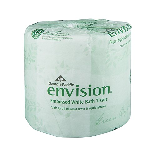 Georgia-Pacific Envision 19881/01 White 1-Ply Embossed Bathr