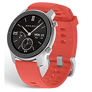 Amazfit GTR A1910 42 Coral Red Xiaomi - Smartwatch (42 mm): Amazon ...