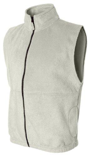 Zip Front Fleece Vest - 2