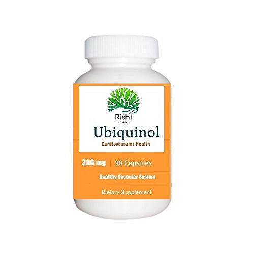 Ubiquinol 300 mg 90 Count Softgels , Natural Supplement Form of C0Q10, High Absorption, Antioxidant for Heart Health (300 Mg 90 Softgels)