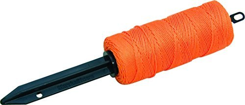 (Marshalltown SLW66FO Refillable Stake Line Winder with 500-Feet Number-18 Orange Twisted Line by Marshalltown)
