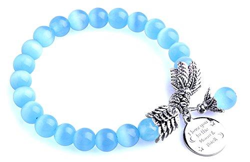 Bella Vida Bracelet Birthstone Crystal Stretchwith
