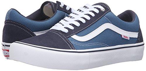 Herren Skateschuh Vans Old Skool Pro Skate Shoes navy/stv navy/white