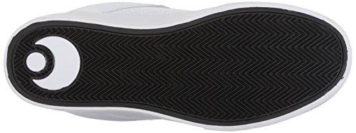 Osiris Heren Protocol Skateboarden Schoen Wit / Zwart / Rood