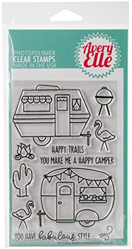 Avery Elle ST-17-09 Clear Stamp Set 4