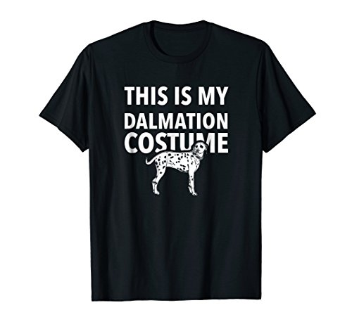 Last Minute Dalmatian Costume T-Shirt Dalmation Outfit -