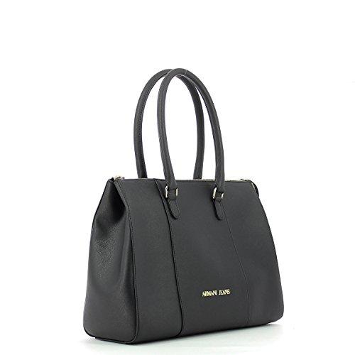 922574cc857 Nero Shopper Donna Borsa Armani qgwH6Z8