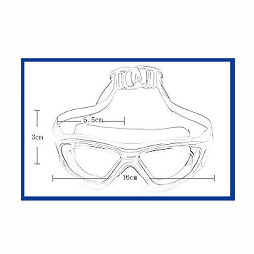 à natation l'eau Bleu Couleur Mode de Anti Hommes compétition Lunettes Bleu Formation ZHJING Professionnelle imperméable Brouillard 6q8z5Uw