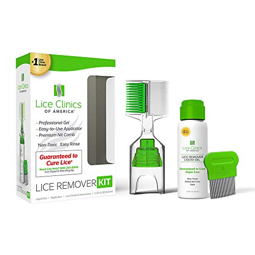 Lice Remover Kit Guaranteed to Cure Lice, Even Super Lice—Safe, Non-Toxic and Pesticide-Free (Lice Remover ()