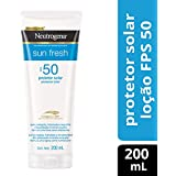 Protetor Solar Sun Fresh FPS 50, Neutrogena, 200ml