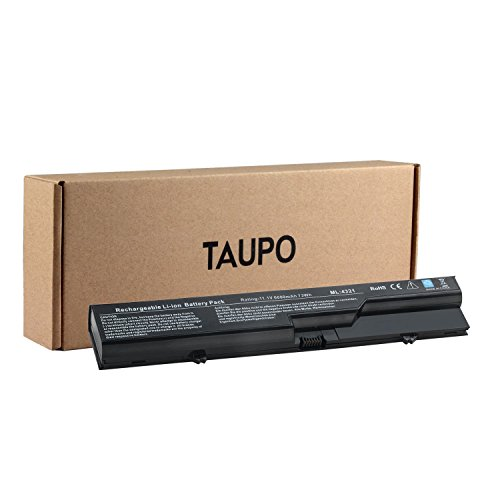 TAUPO 9-Cell Laptop Battery for HP 620, Probook 4525S 4420s 4320 4320s 4320t 4321 4321s 4325s 4520 4520s 4425s 4326s 4320T 4421S, Compaq 320 321 325 326 420 421, fits - Hp 4420s Battery