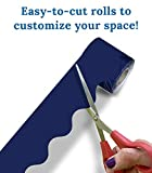 Navy Rolled Bulletin Board Borders, Carson Dellosa