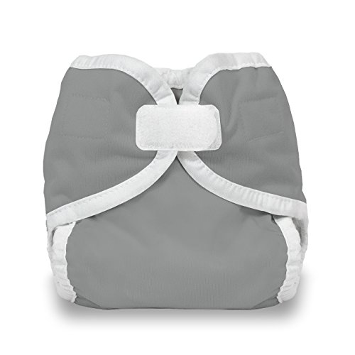 Thirsties Reusable Cloth Diaper Cover, Hook & Loop Closure, Fin X-Small