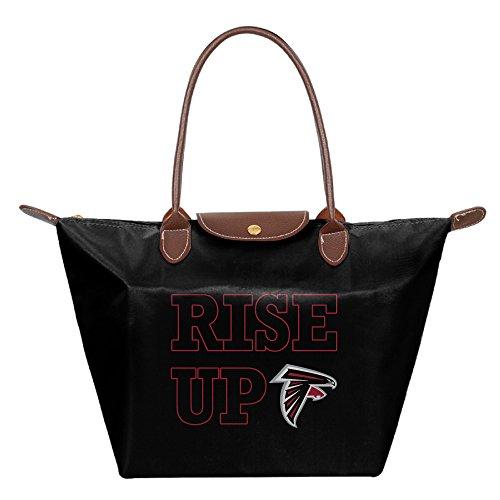 Rise Up Atlanta Black Waterproof Handbags Shoulder Bags Tote Bags