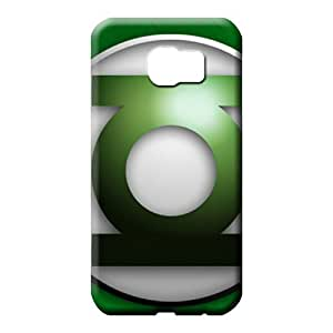 samsung galaxy s6 edge Excellent Designed phone Hard Cases With Fashion Design mobile phone case green lantern symbol