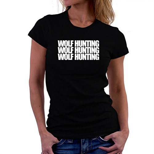 Wolf Hunting three words T-Shirt