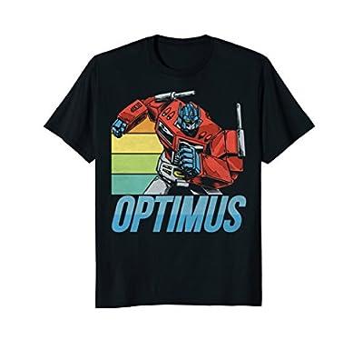 Transformers Optimus Prime Retro Action T-Shirt