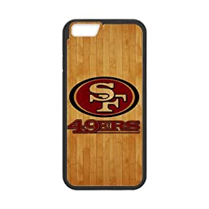 RAROFU New Products san francisco 49ers Custom Case for iPhone6 4.7 (Laser Technology)