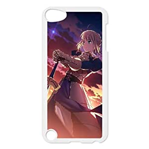 Saber Fate Stay Night Anime iPod TouchCase White Fantistics gift A_930952