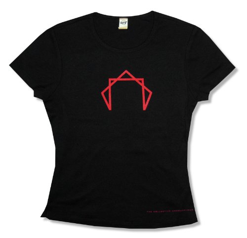 Kavio Juniors Tool Octagram Logo Black Baby Doll T-Shirt (Medium)