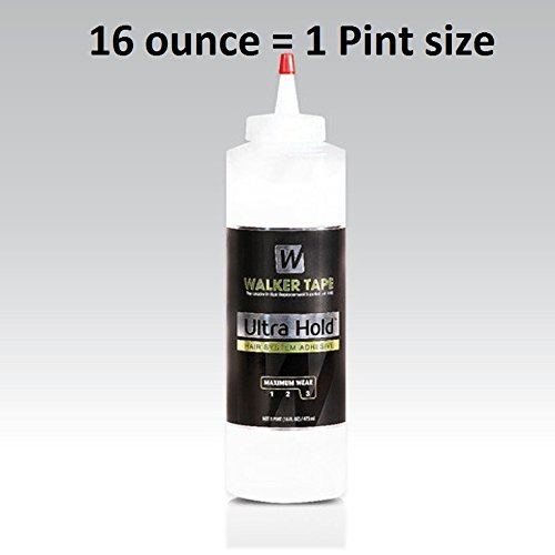 Ultra Hold Adhesive 16.0 ounce bottle (Acrylic-Soft Bond) by Walker Tape