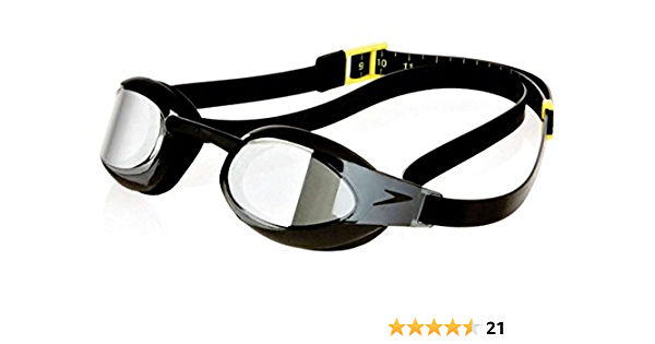 abuela Objeción traqueteo  Amazon.com : Speedo Fastskin3 Elite Mirrored Goggle Performance Swim Goggles  - Black : Swimming Goggles : Sports & Outdoors