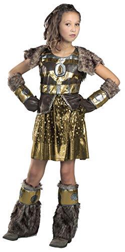 Princess Paradise Hildagaard Warrior Costume, Tween Small -