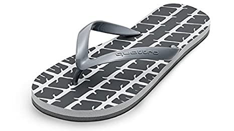 Original Audi quattro Zehentrenner flip flop grau 45//46 Sandalen Audi Flip Flops