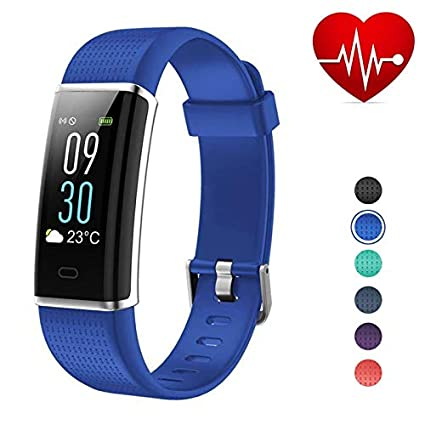 VeryFitPro ID130-Plus-Color-HR, Fitness Tracker Smart Watch with Bluetooth,  Colour Screen, Heart Rate Monitor, Sports GPS Tracking, Sleep Monitor,